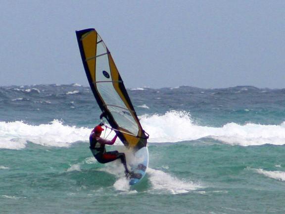 Palawan windsurfing