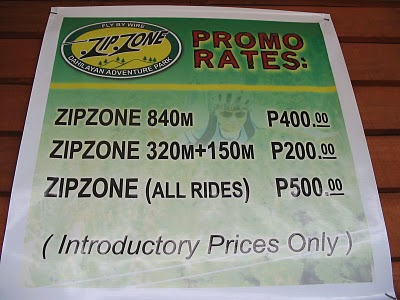 Ziplining in Bukidnon