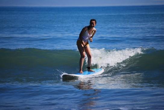 Surfing Aurora